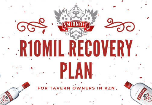 Inkunzi YeVodka – Smirnoff 1818 initiates R10 million recovery plan for tavern owners within the KZN province after state strife